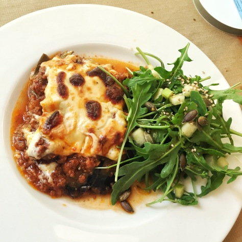 Moussaka de ternera